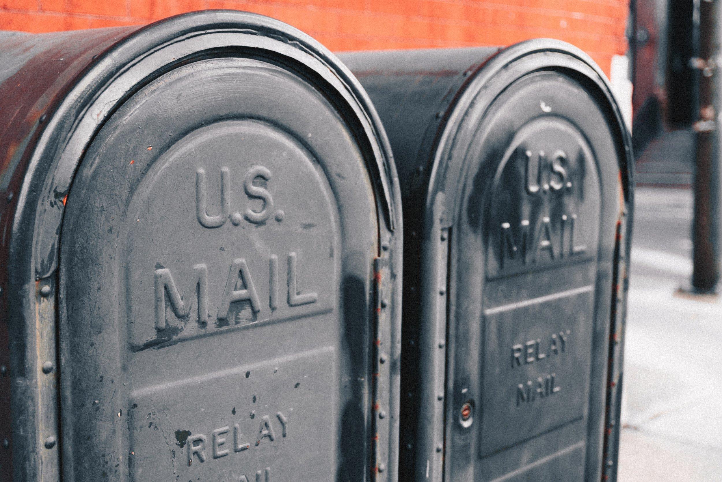 Mail Ticks