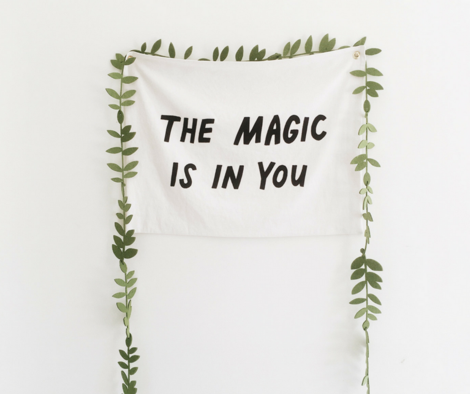 Banner saying the magic is in you