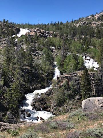 The Popo Agie Falls