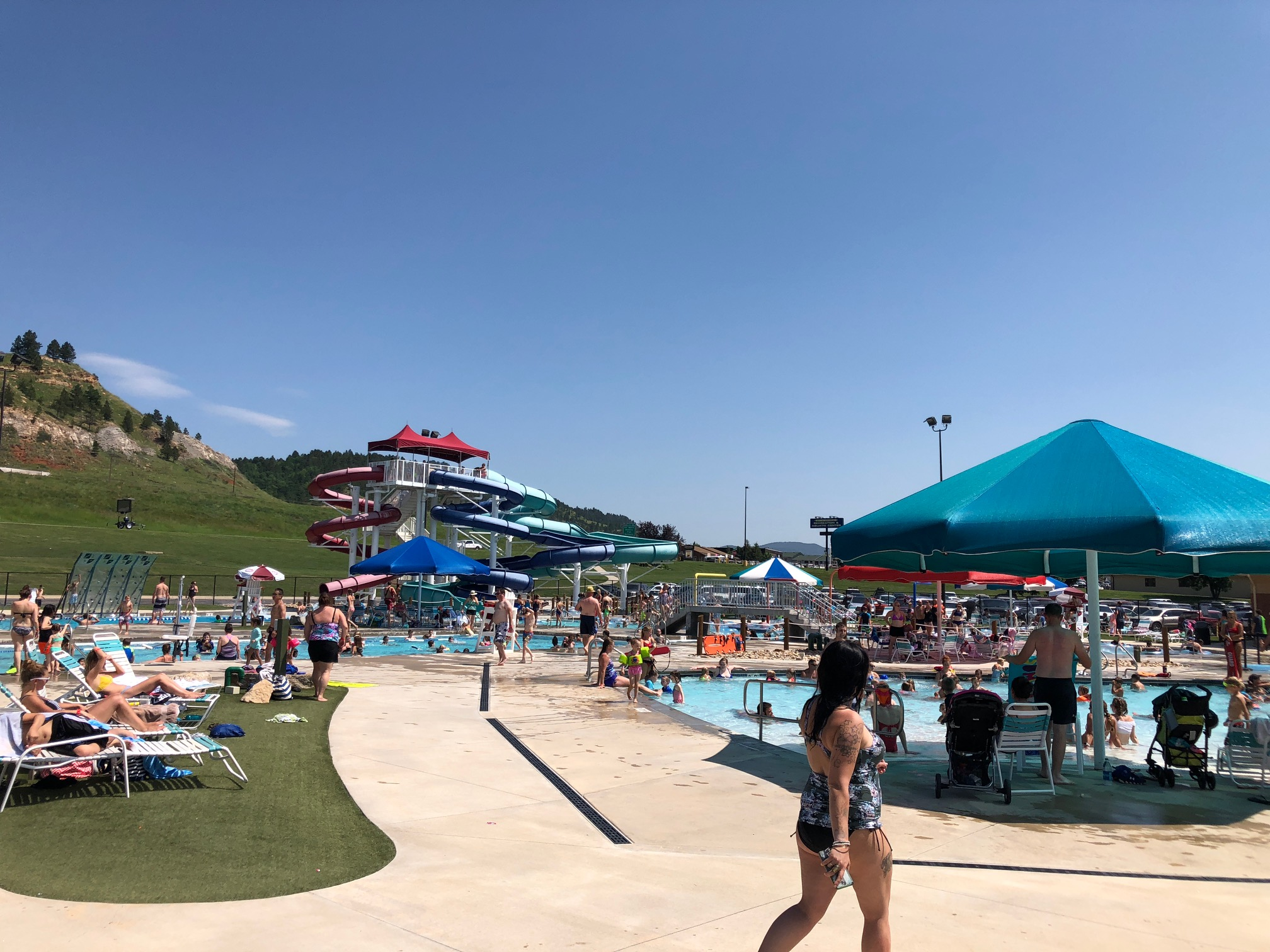 Yes, this is part of the Spearfish Rec Center!!