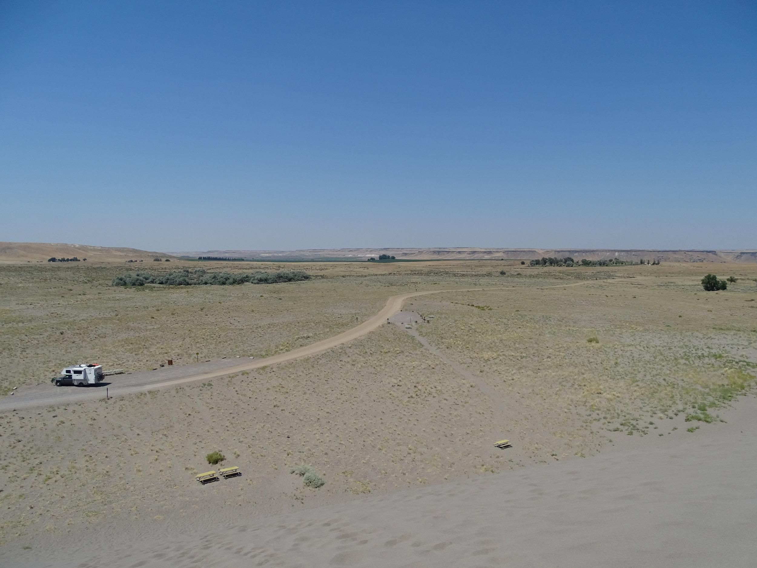 Pretty desolate!