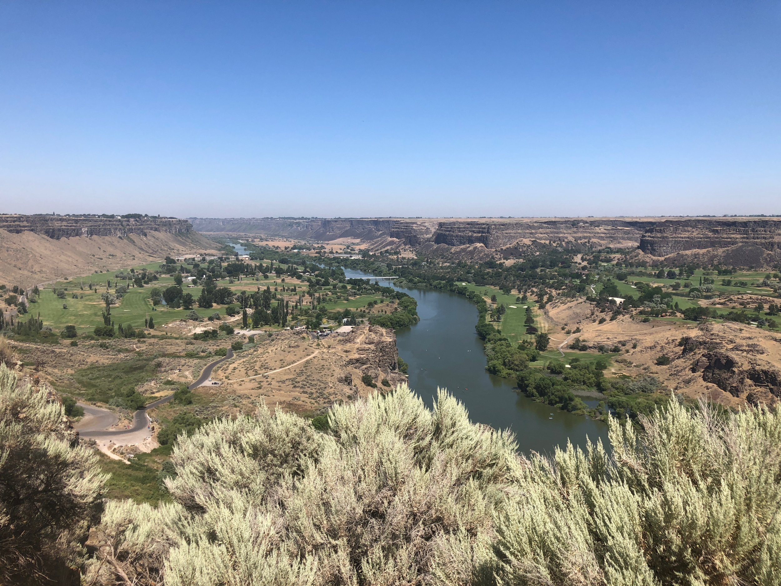 A view of the Snake River
