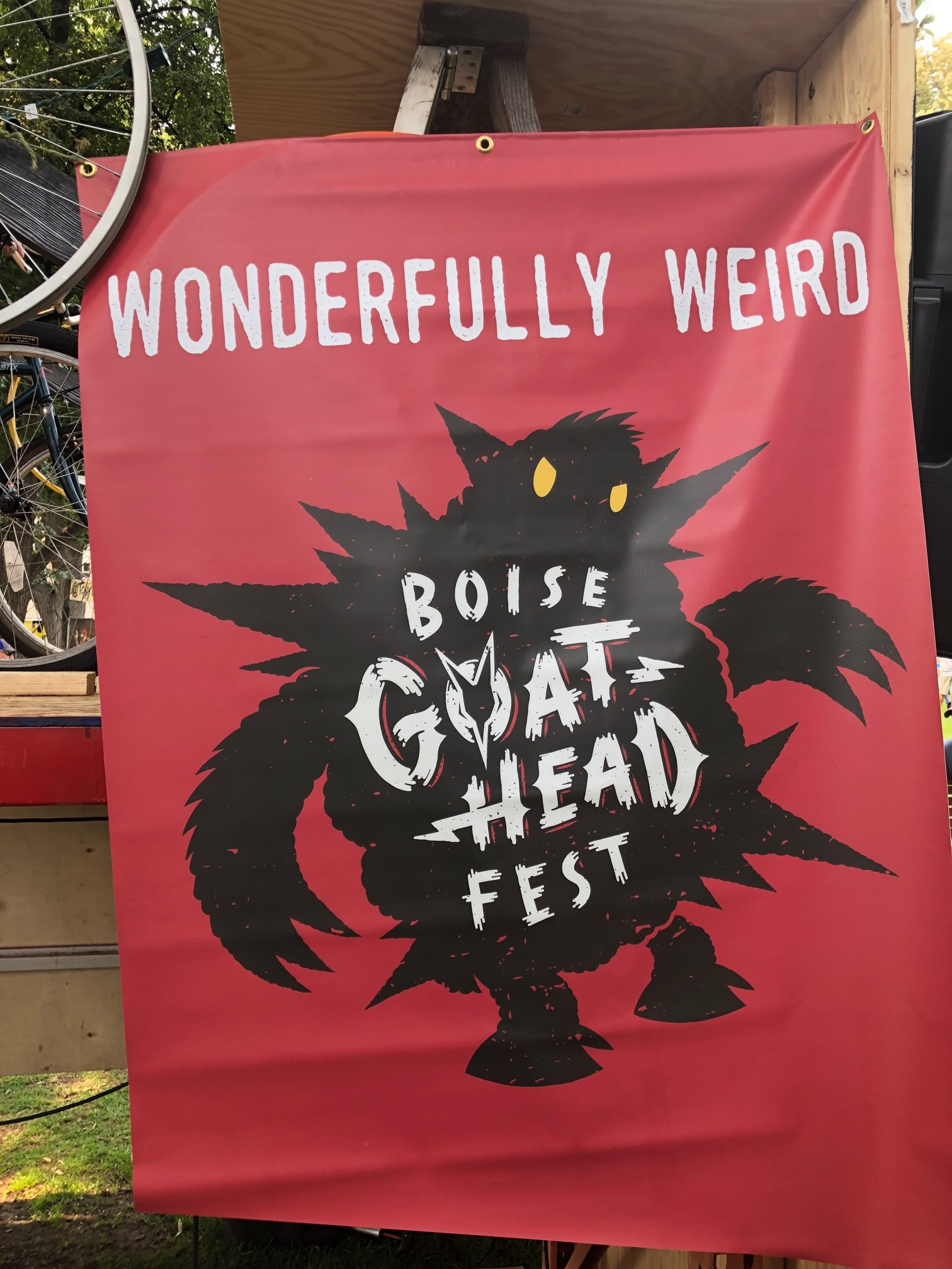 This festival WAS wonderfully weird, but we had and awesome time!