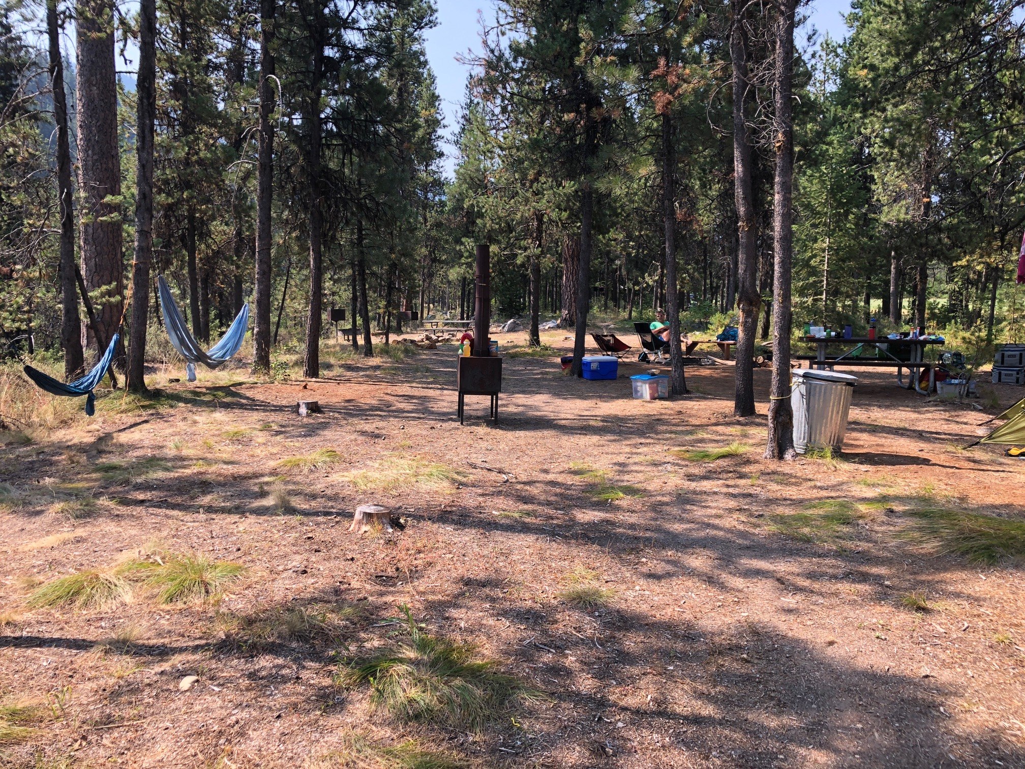 Our great campsite