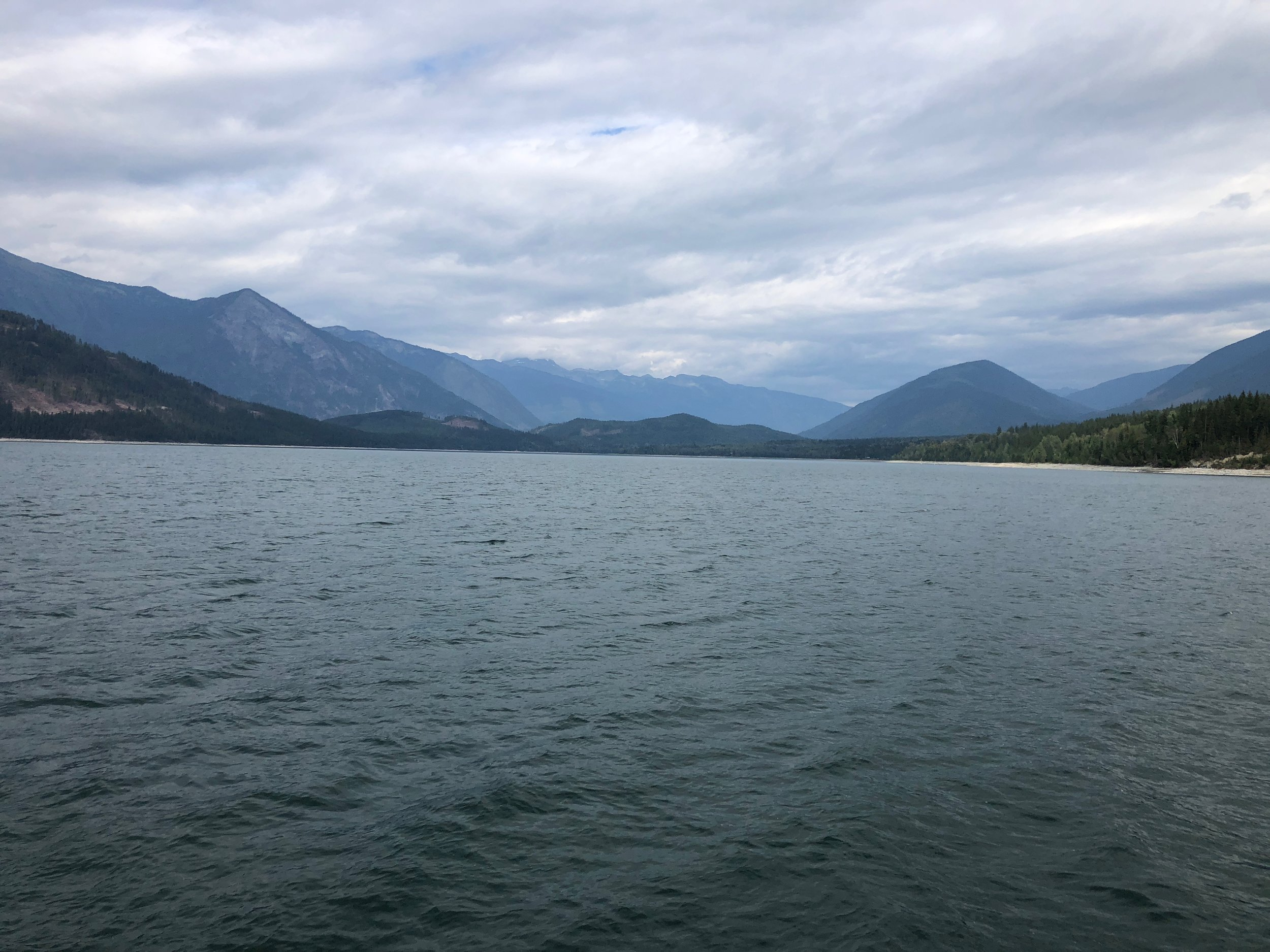 A view from the ferry