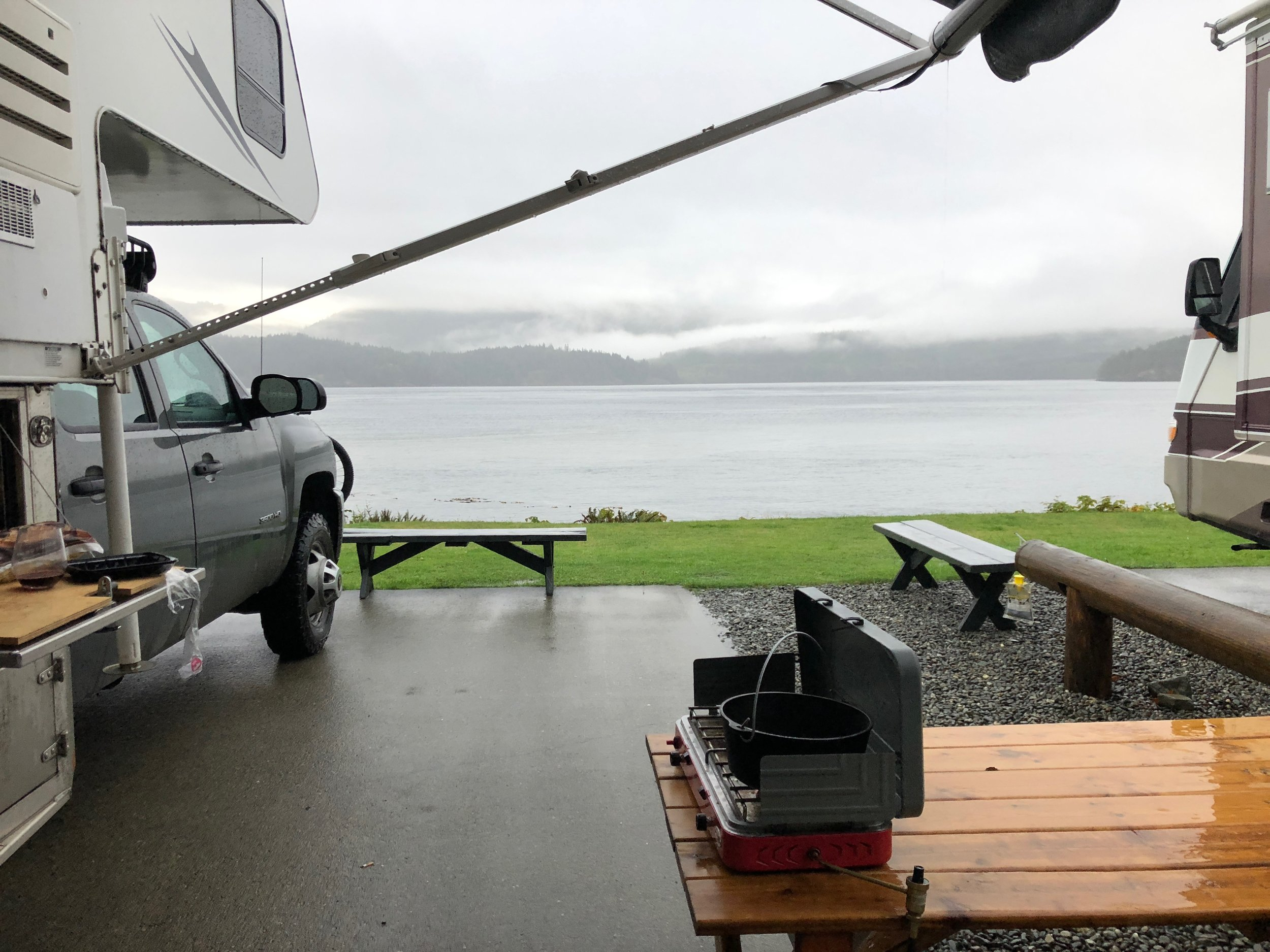 Finally! A campsite on the water!