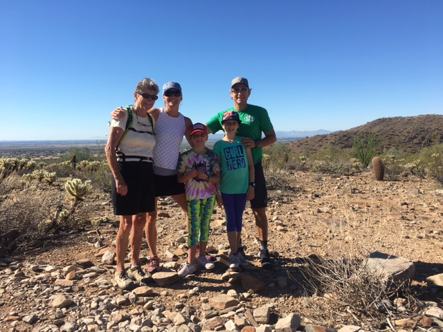 Hiking the aLost Dog Trail in Scottsdale