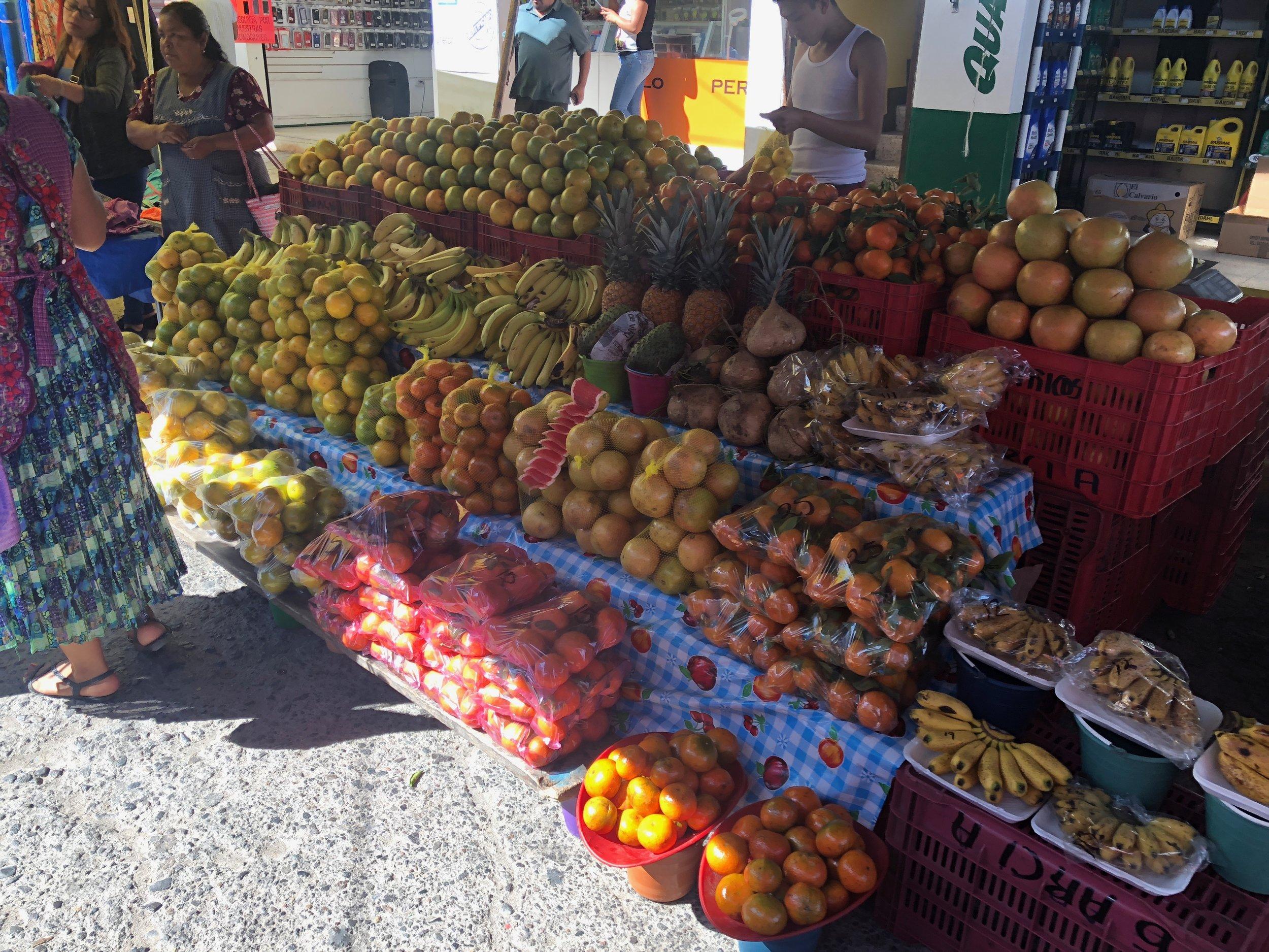 At the Tlacolula Market