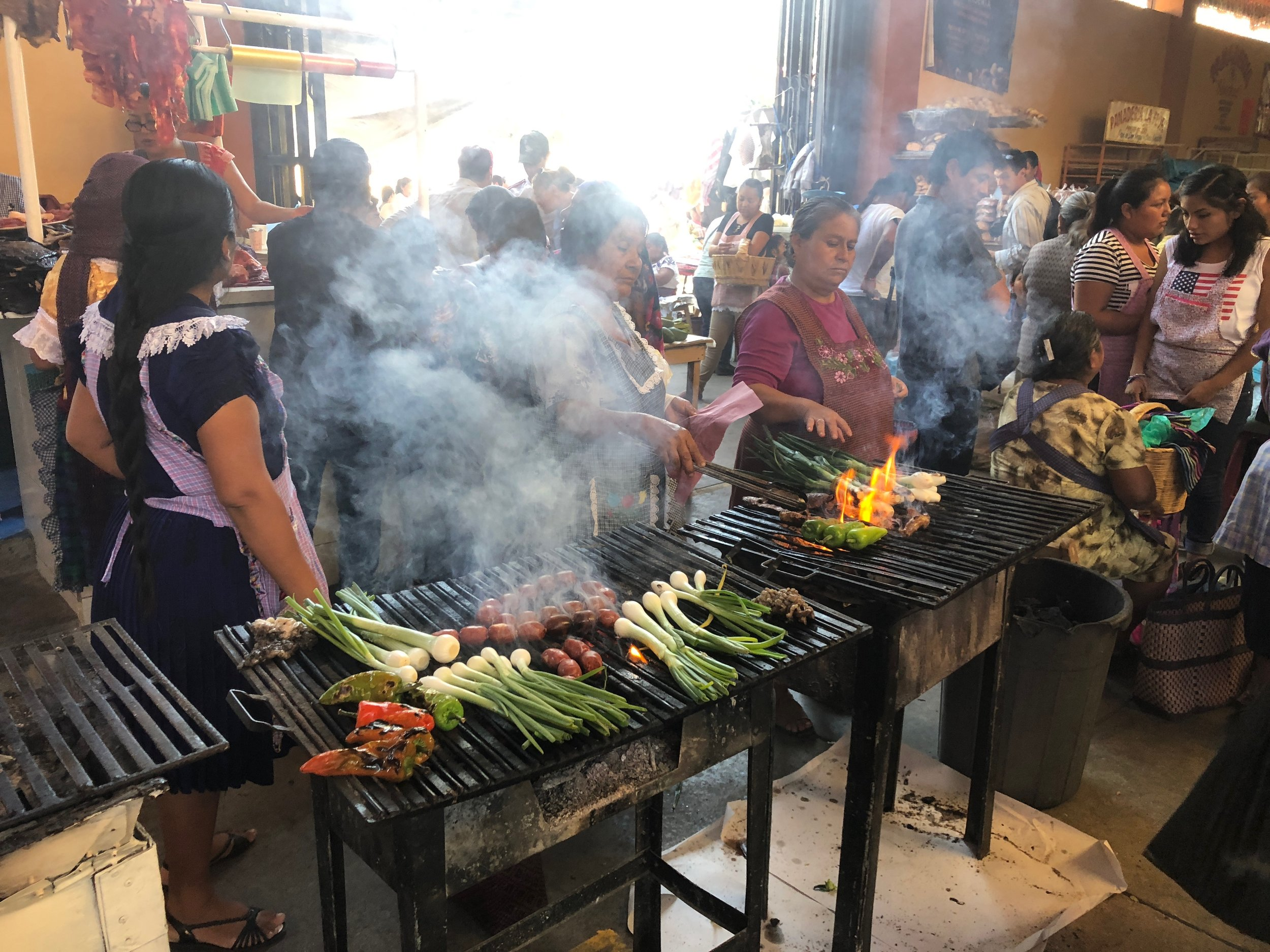 There is always so much good food to eat at the markets