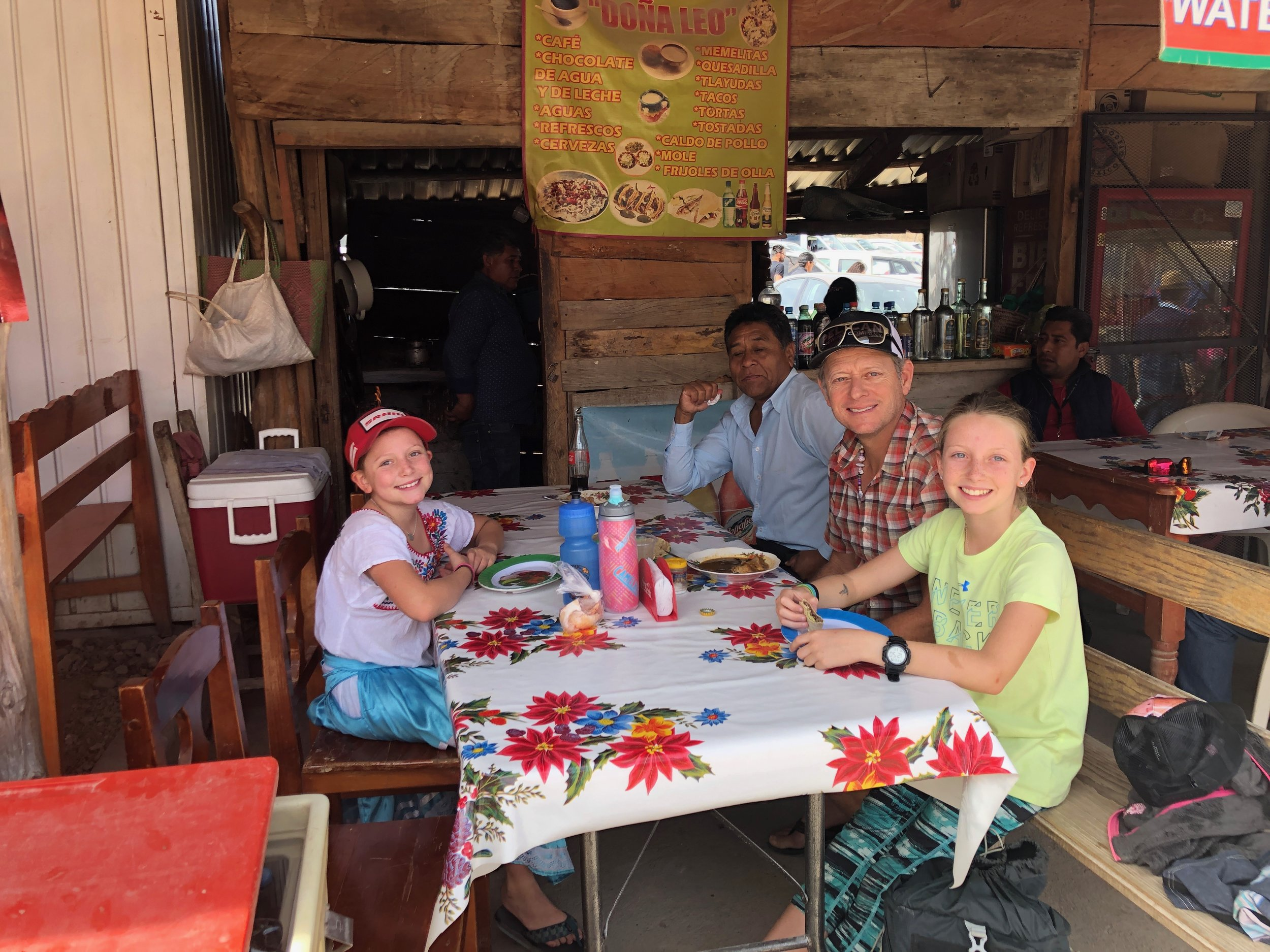 """I think we had the most delicious food of the entire trip at this place! John's """"puerco frito con salsa"""" was delicious!"""