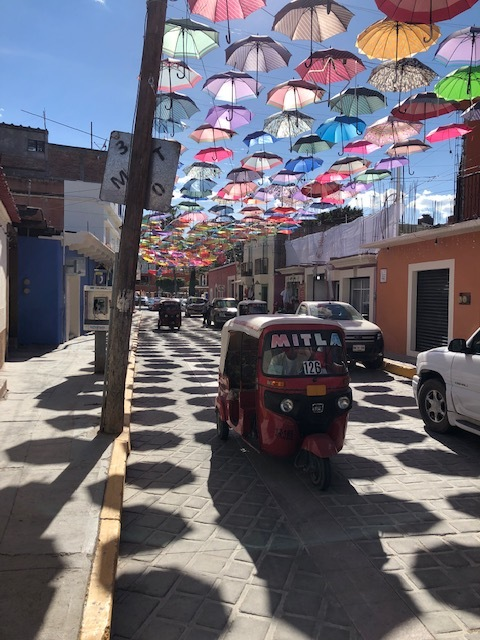 Mitla was a great little village we all loved!