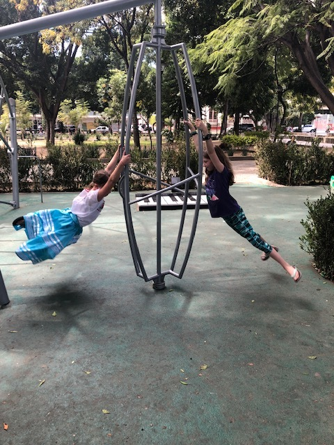 Having fun finding new parks