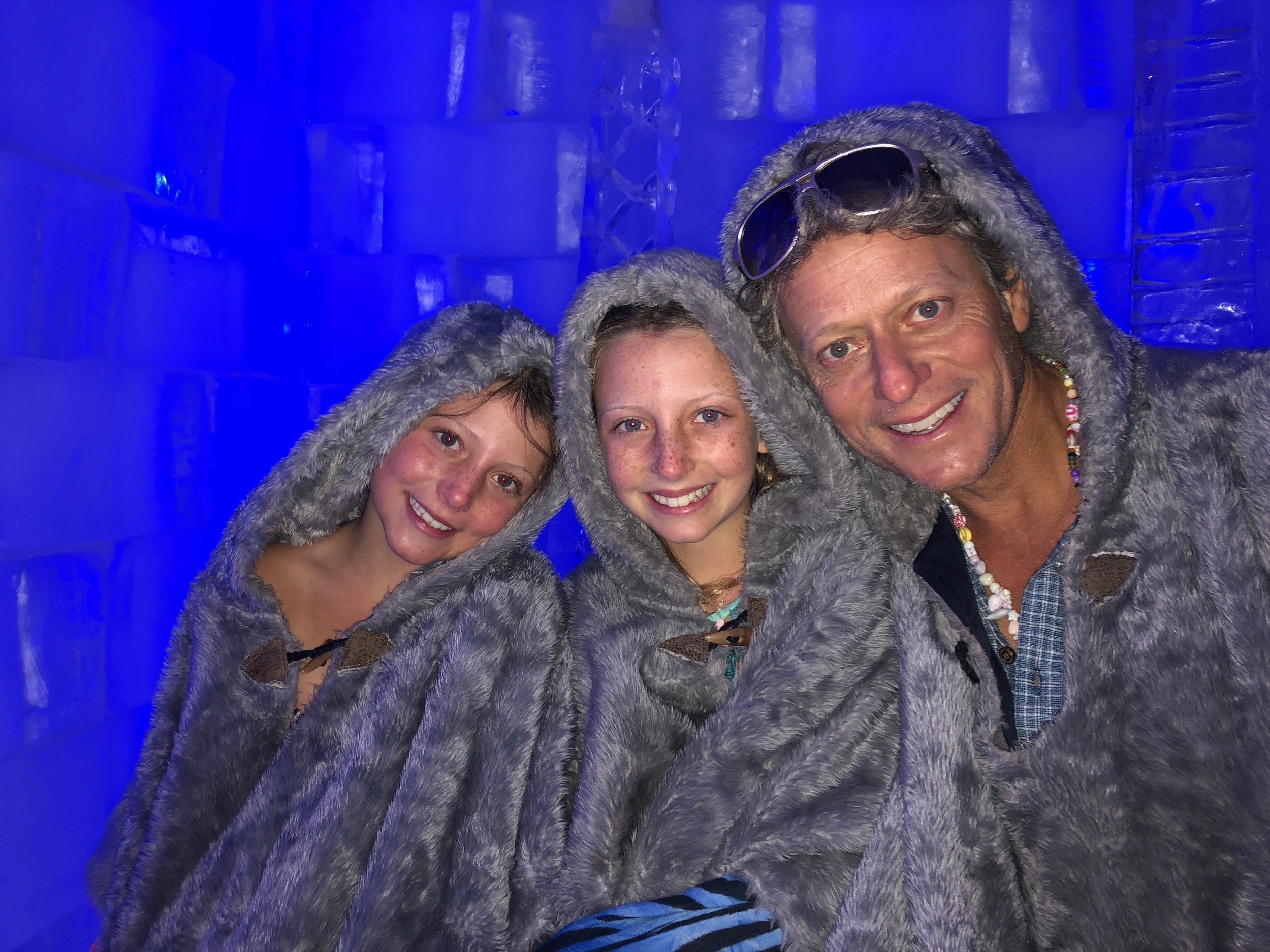 Inside the Ice Bar