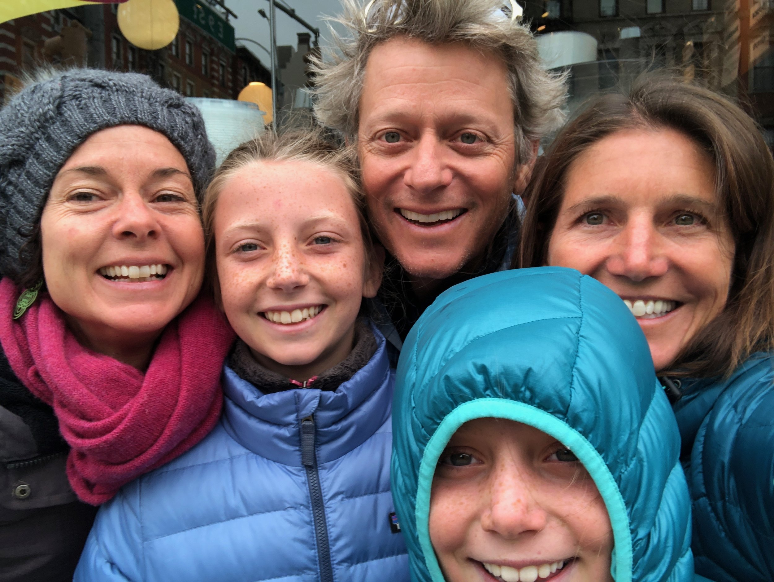 Ashley, Ellie, John, Me, Isla