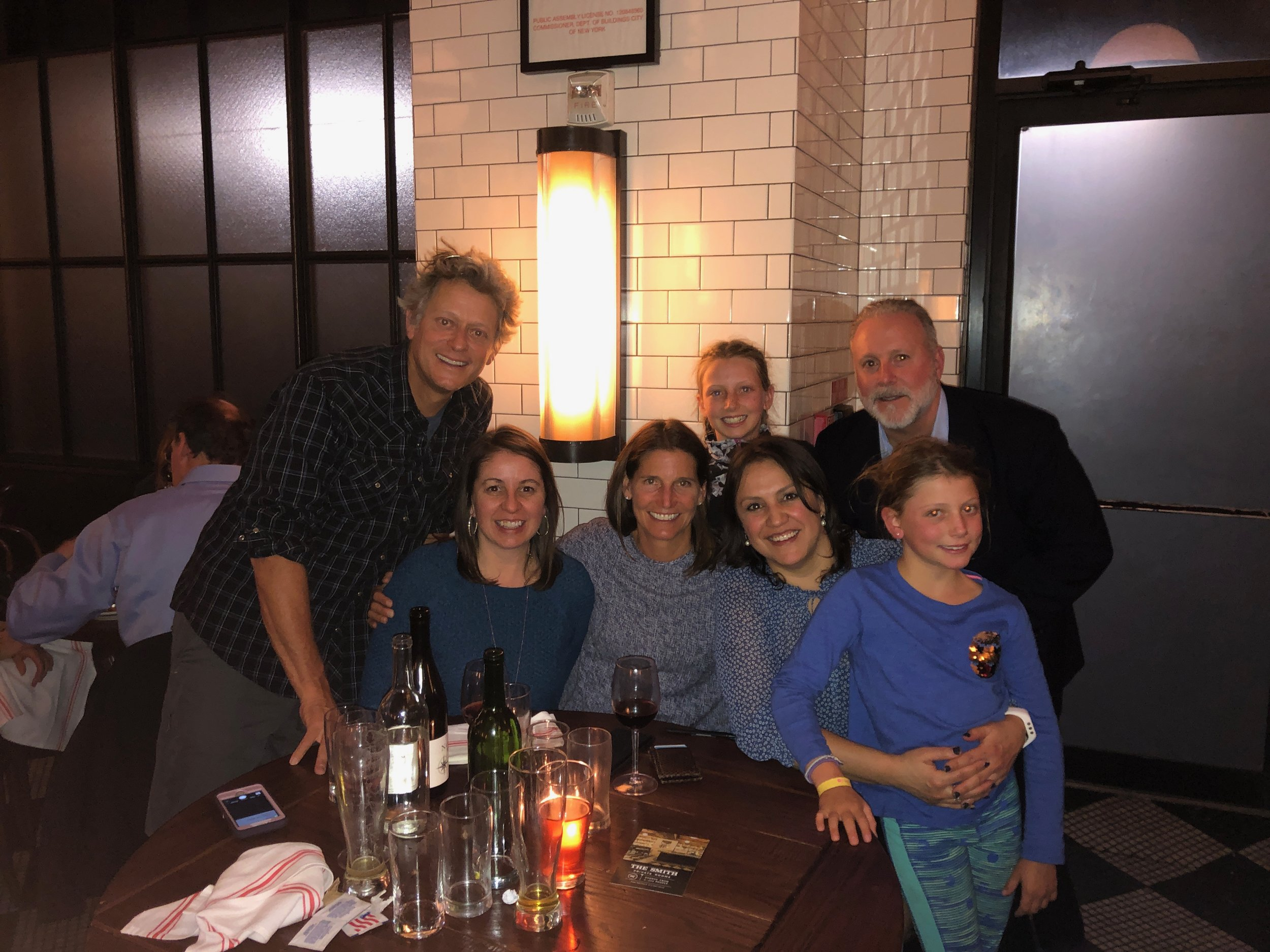 John, Liz, Me, Ellie, Rosemary, Sam, Isla