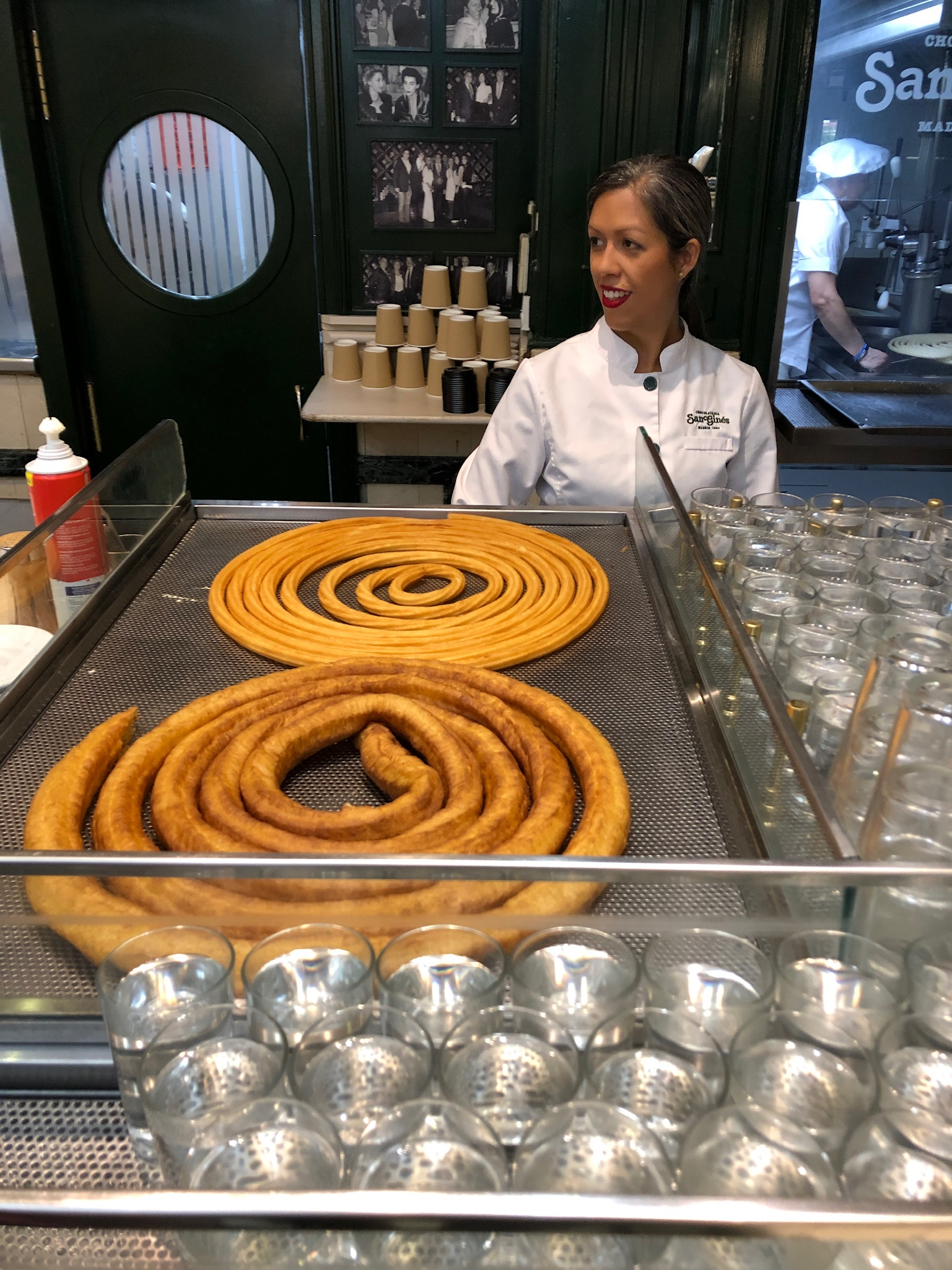 The best Churros in Madrid!