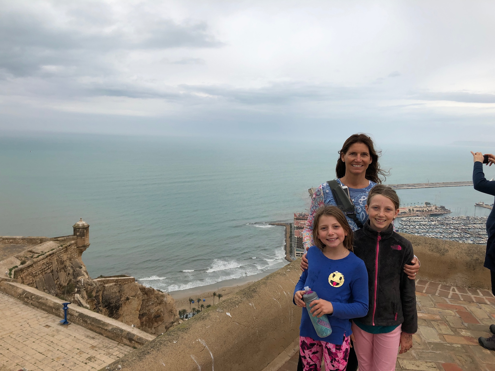 Our last day in Alicante at the castle.