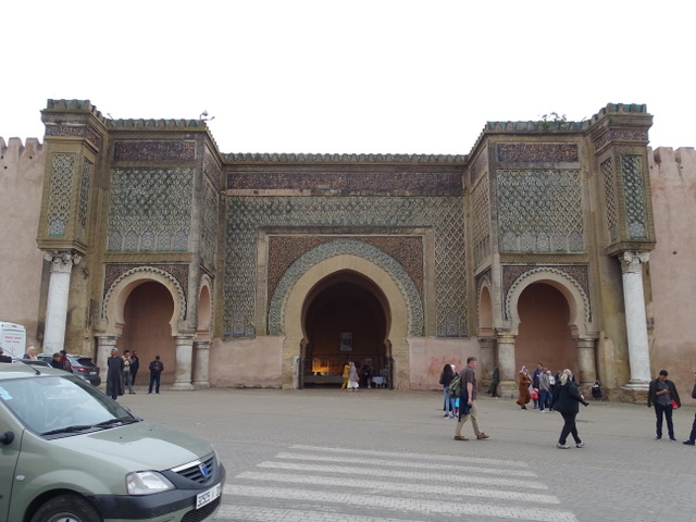 The Bar Mansour Gate in Meknes