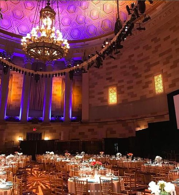 🥂 Gotham Hall provides a vibrant venue space for equally vibrant crowds! 🎉