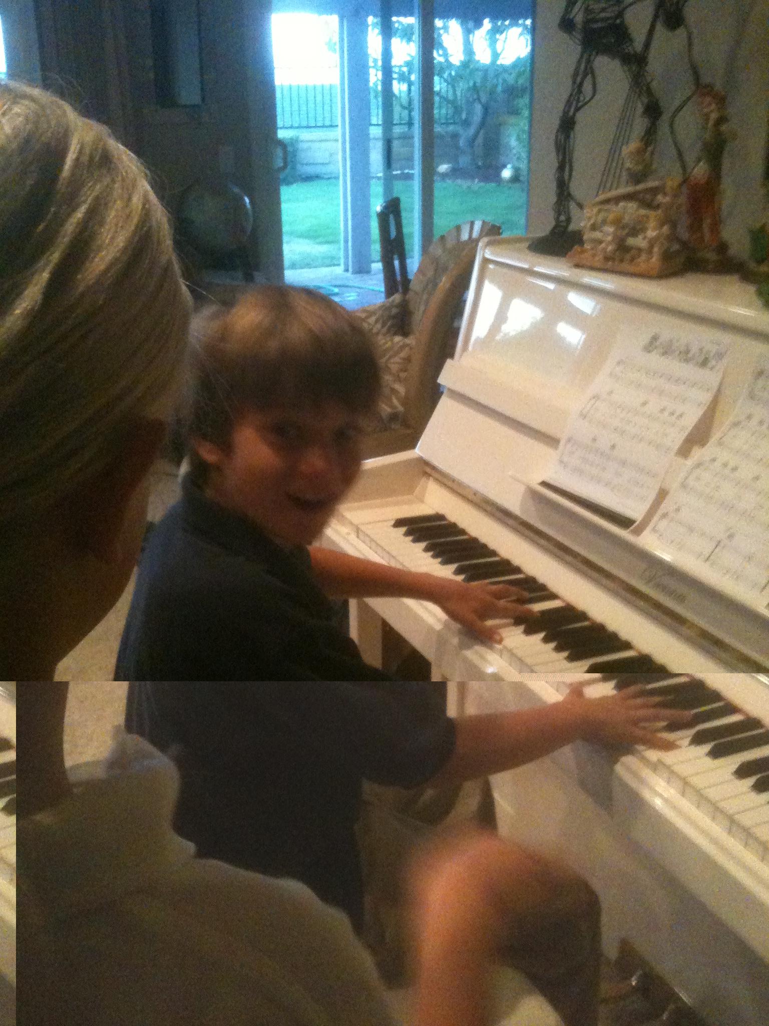 Piano Lesson!