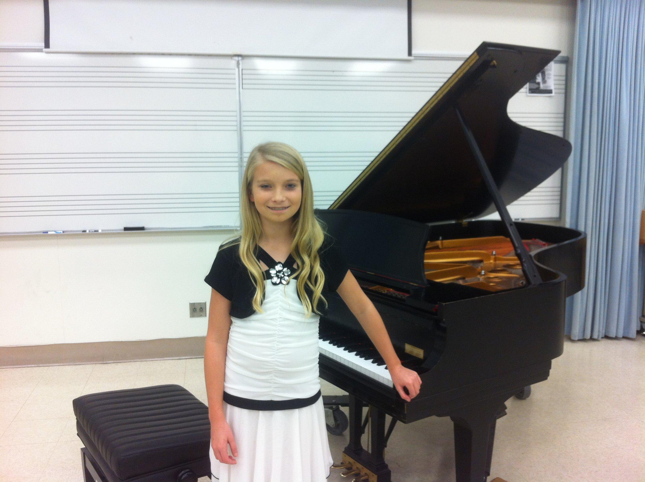 Piano Festival at Saddleback College