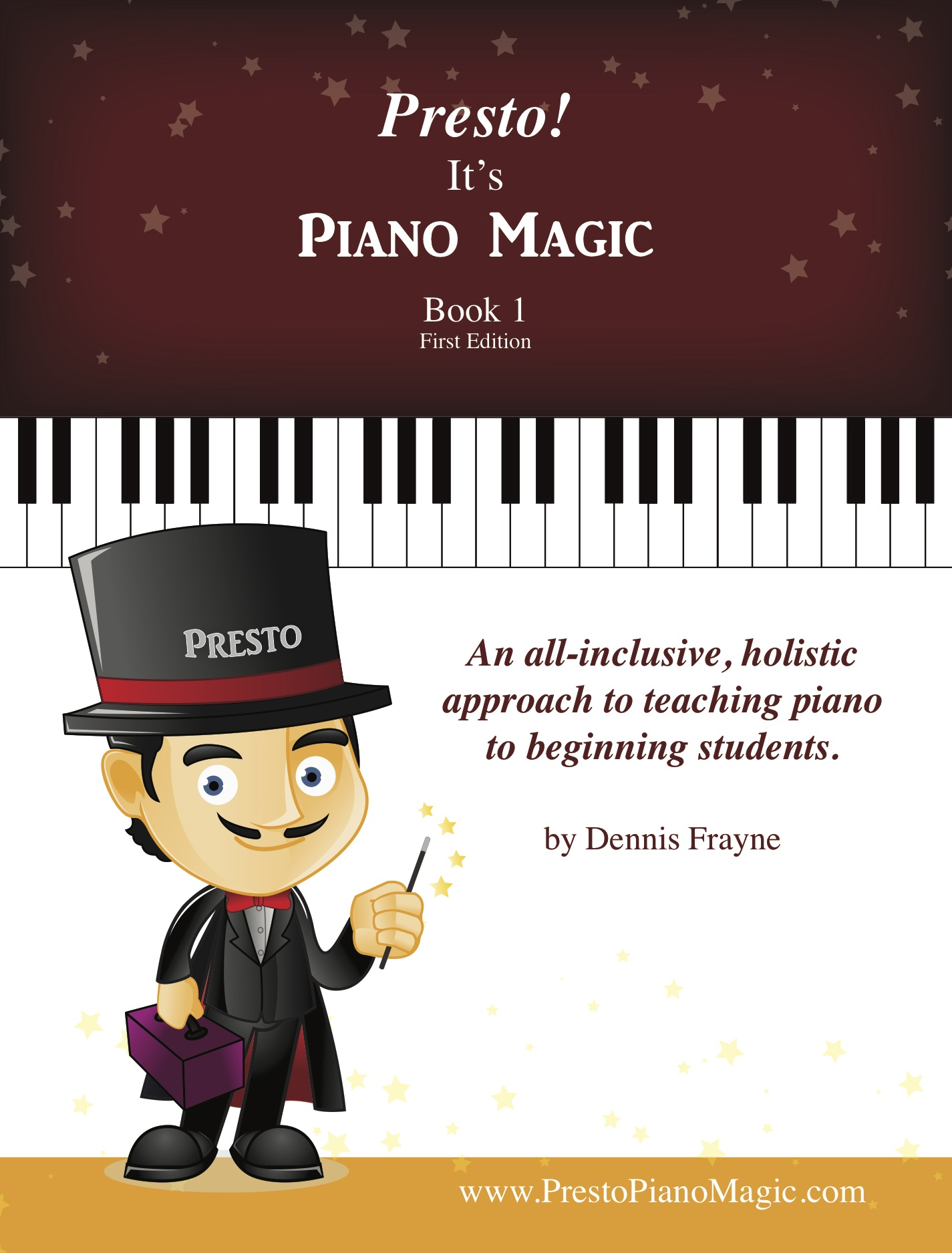 Presto! It's Piano Magic, Book 1