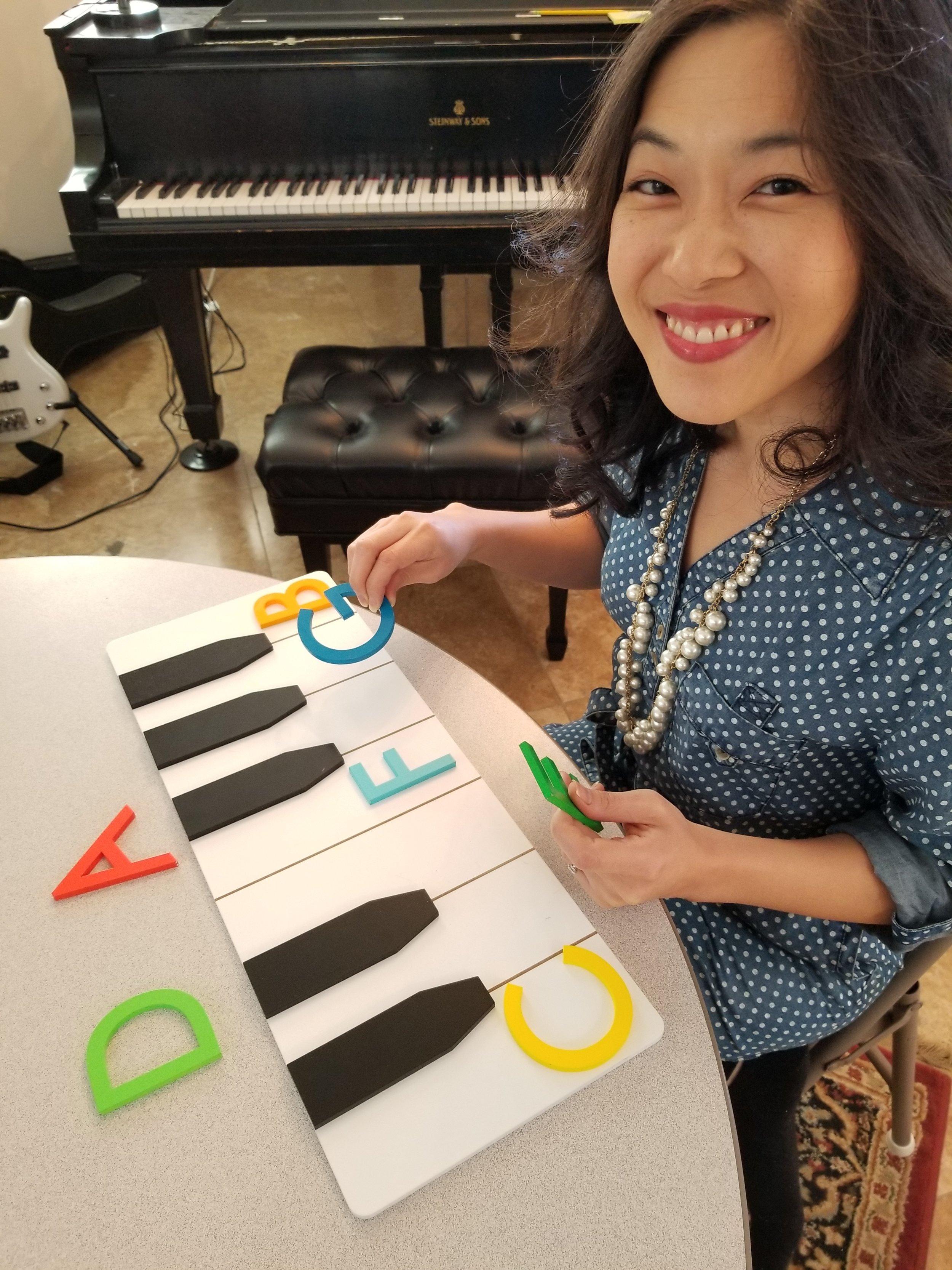 Presto's Piano Keyboard Assistant