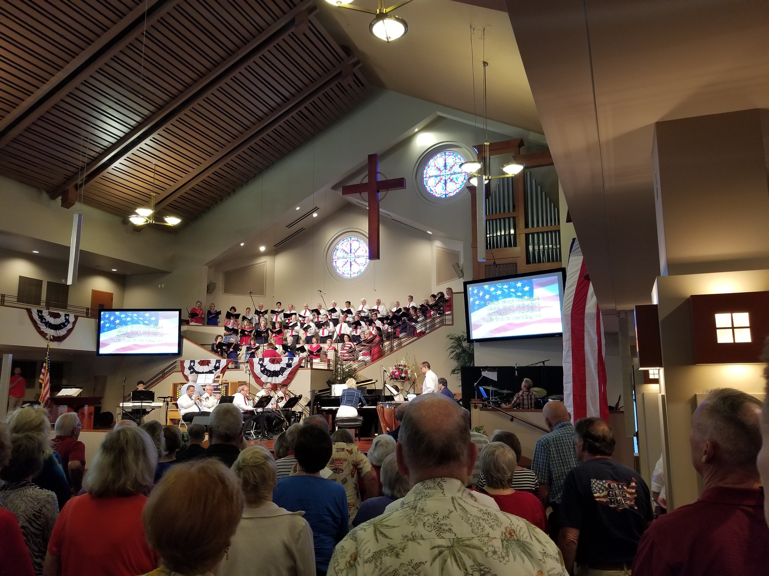 Patriotic Concert at PCOM, Mission Viejo