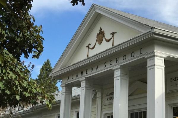 Alameda Elementary, built in 1911 serves 700 neighborhood children