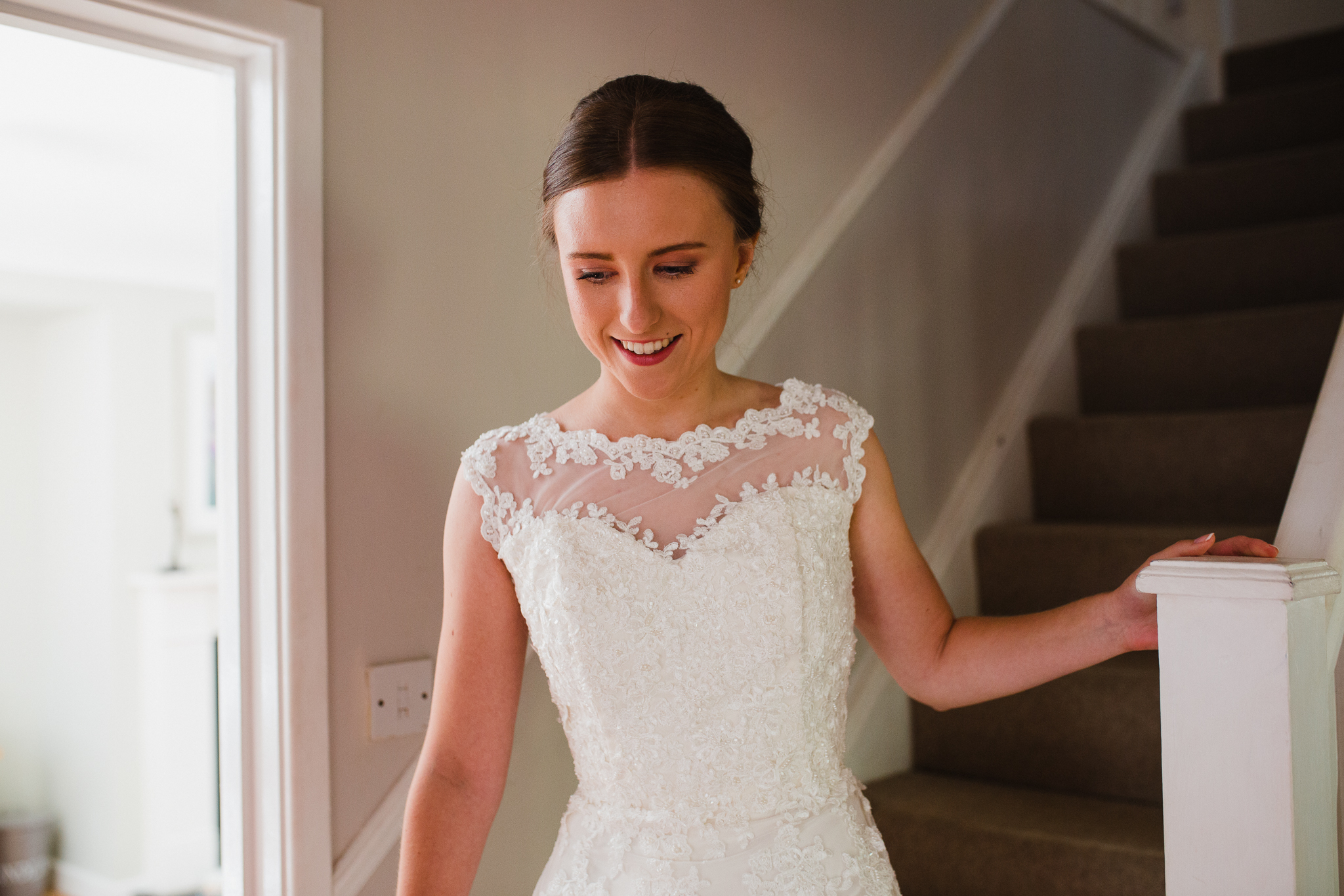 Jess and Ben - Liverpool Wedding - Jess smiling