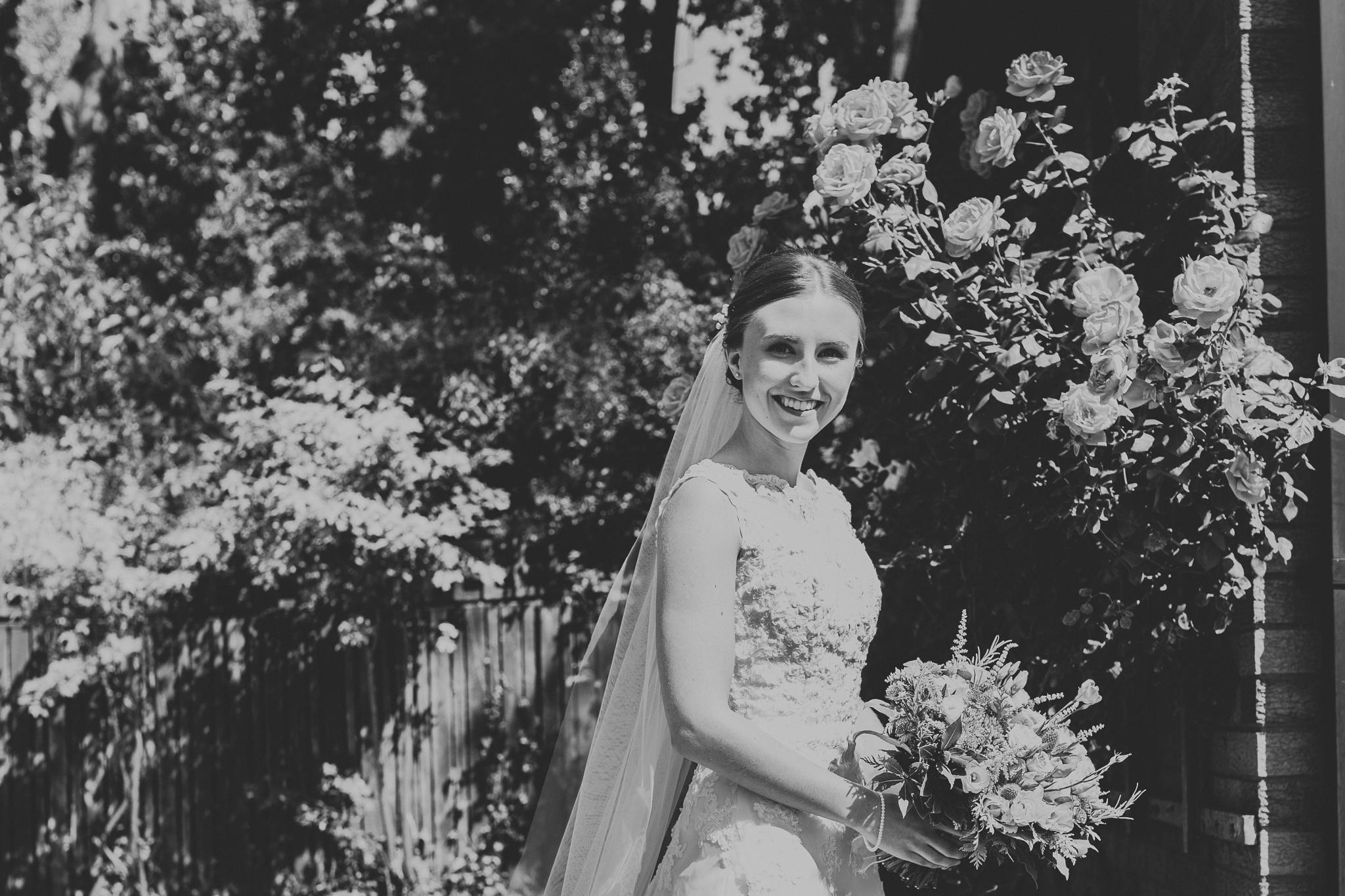 Jess and Ben - Liverpool wedding - Bridal portrait