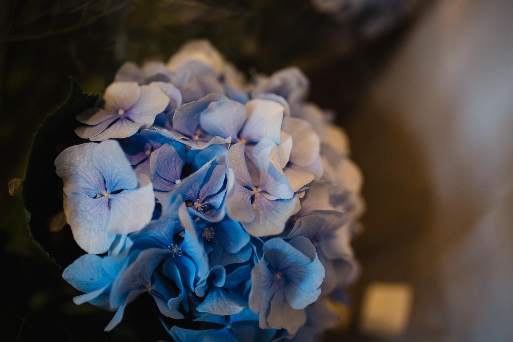 Bridesmaid flower bouquet