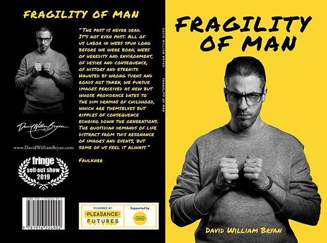 Chuffed to let you all know that the paperback of my new Edinburgh Fringe sell out play #FragilityofMan is now available to pre-order. Link in the bio and then click on 'Store'. Hope you enjoy reading it as much as I enjoyed writing it!😊🙏🏽 . . #edfringe #edfringe2019 #makeyourfringe #edfringe19 #edinburghfringe #edinburgh #edinburghfringefestival #edinburghfestivalfringe #theatre #actor #playwright  #playtext  #play #Script