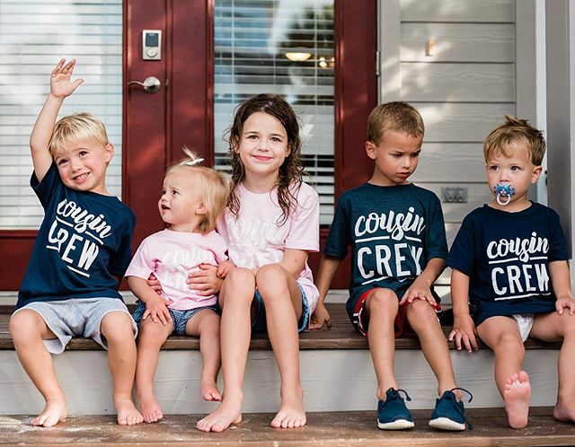 Cousin crew for national cousin day (???- might have made that up unless  @meglicco can verify)