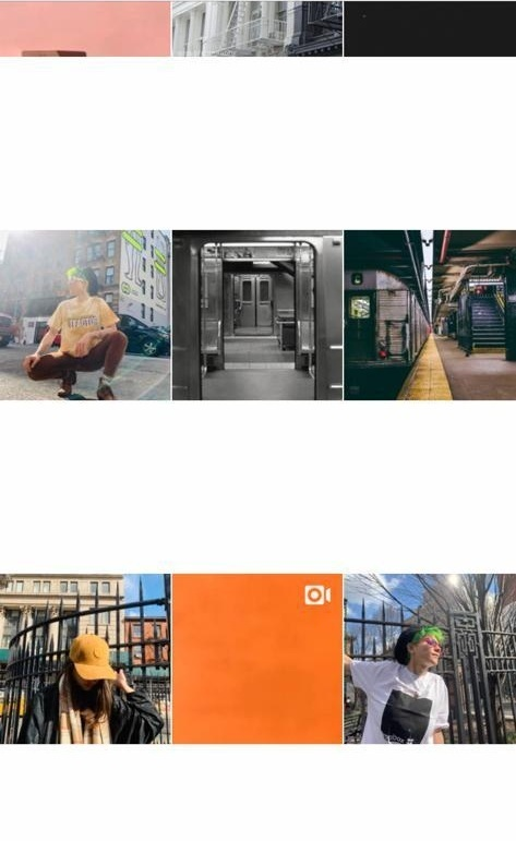 """I created an Instagram grid design and layout - And produced photo-shoots that match Tfactor's """"personality"""""""