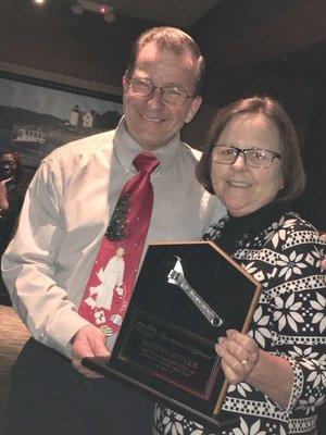 Special Volunteer award to Robert Butler