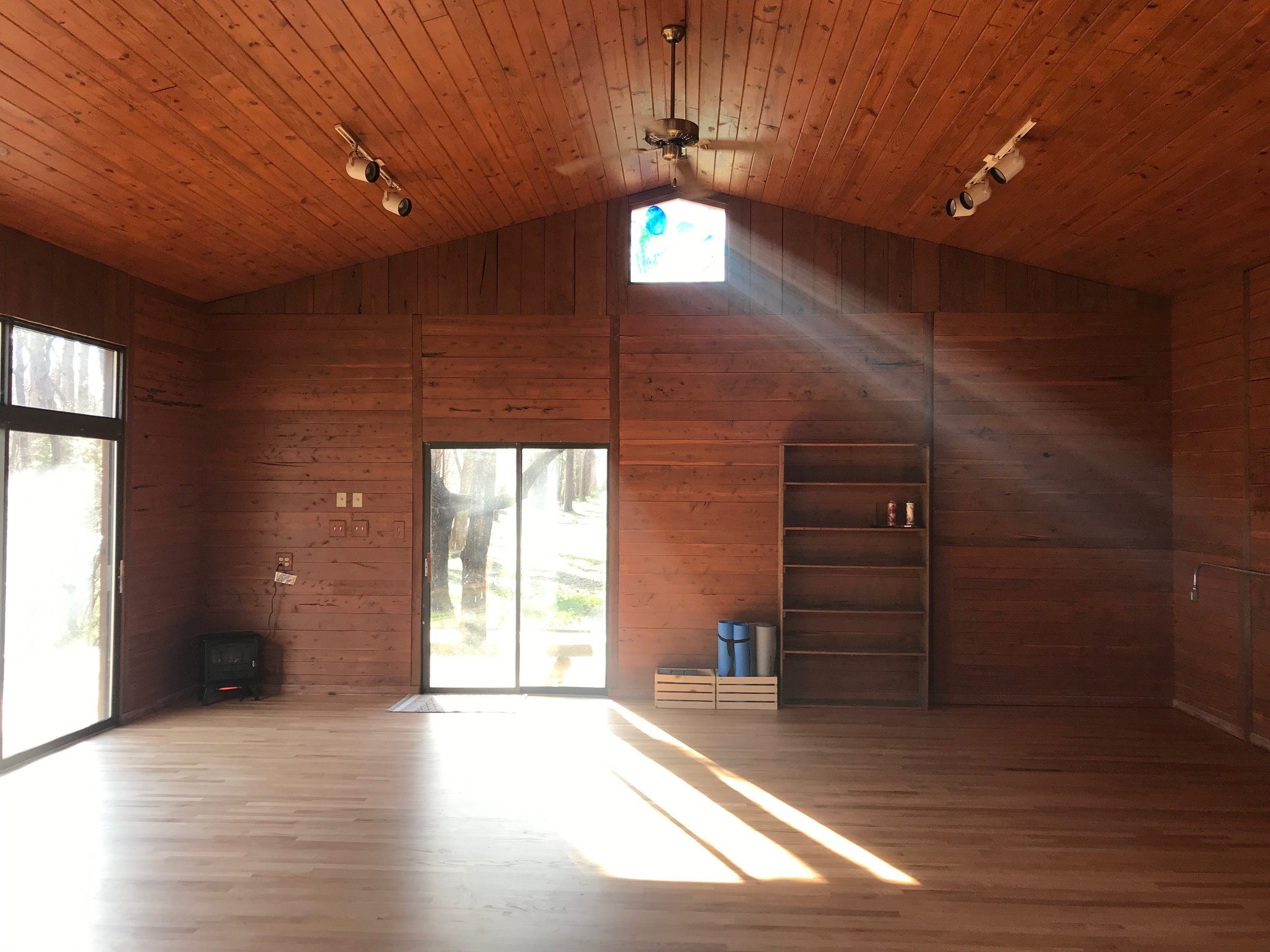 Inside the Yoga Studio