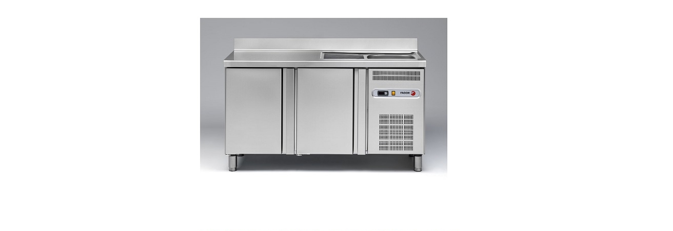 Sink Top Refrigerated Counter