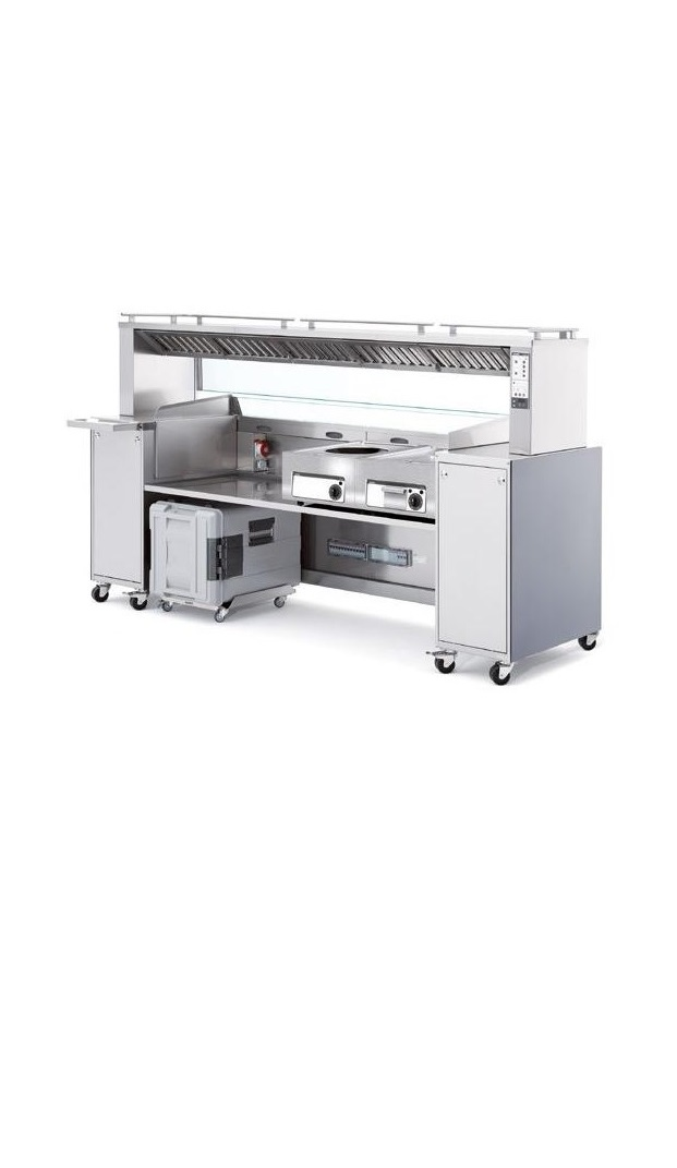Self Extracting Cooking Station