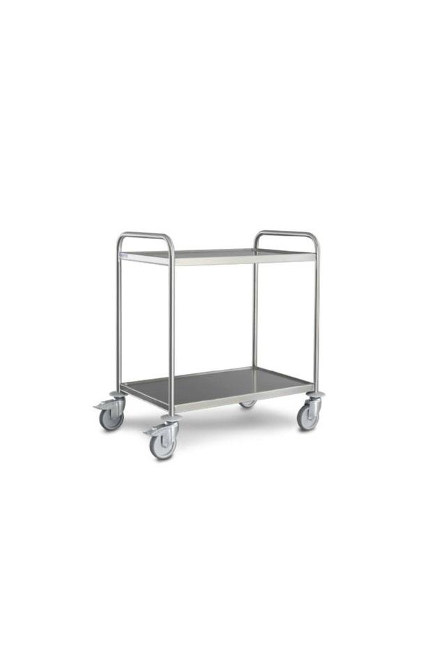 SS 2 Tier Trolley