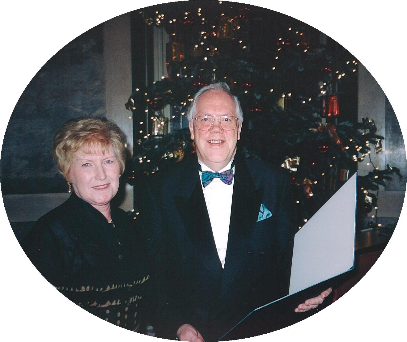 Elaine & Andrew Presentation in Vienna Award For Excellence in Design 2003.jpg