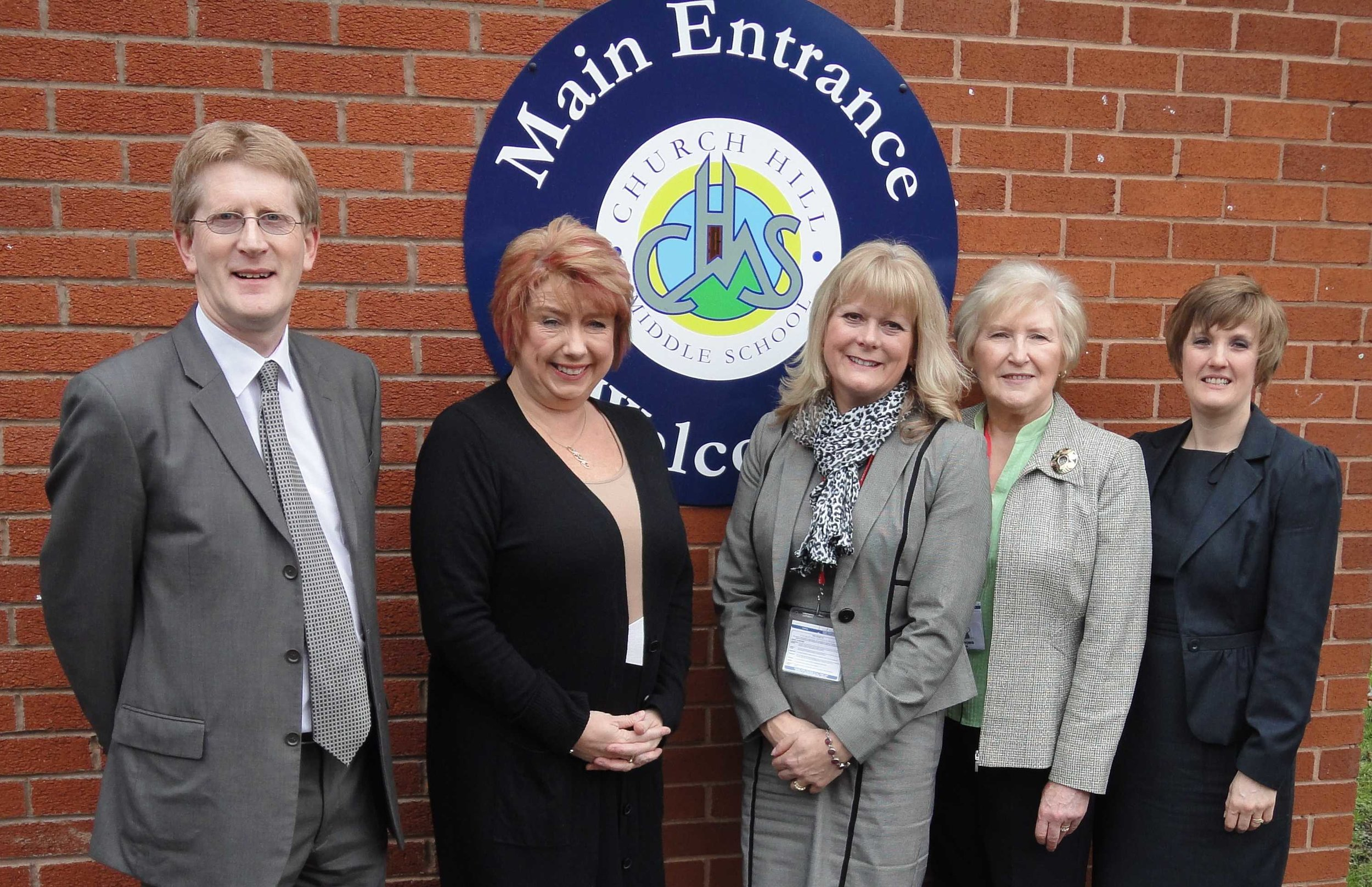 Karen Lumley MP Visit with Headmaster, Andrea Maddox MBE CEO Mentorlink with Elaine a Past Trustee and Volunteer.jpg