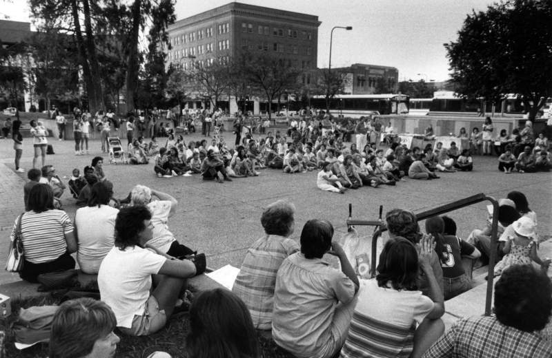 1984, women against rape rally at the square.jpg
