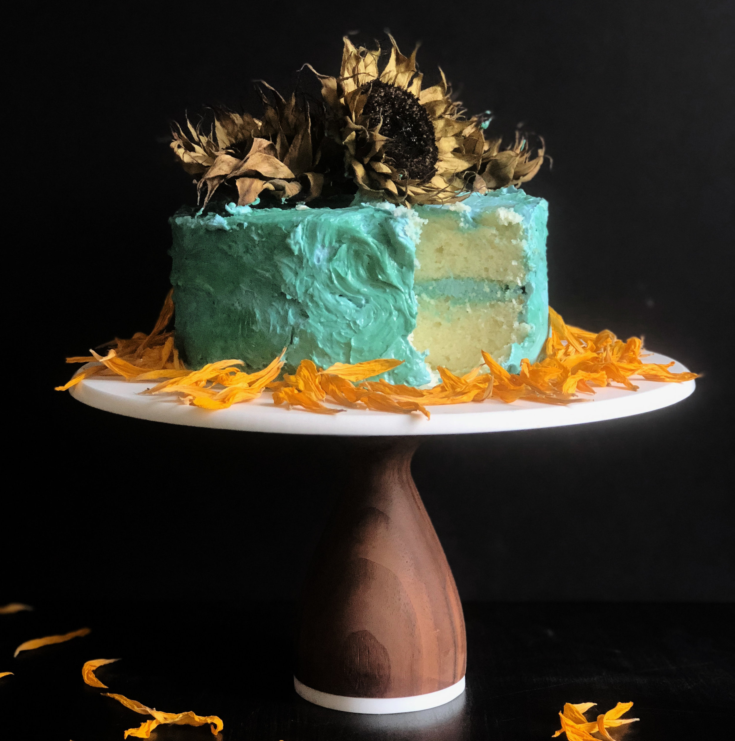 An Elegy for Van Gogh - Read more about this cake HERE.