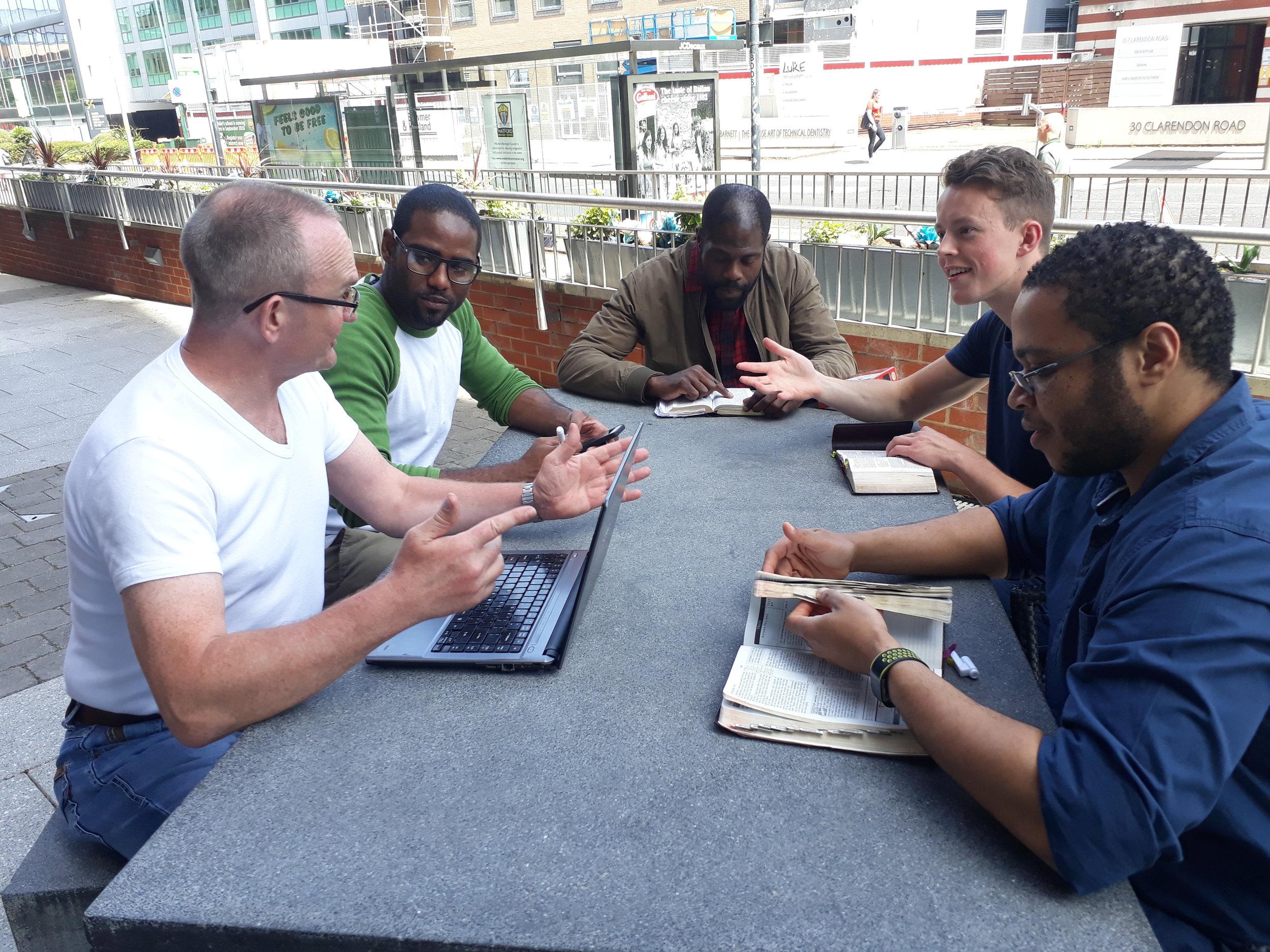 A MEN'S CONNECT GROUP