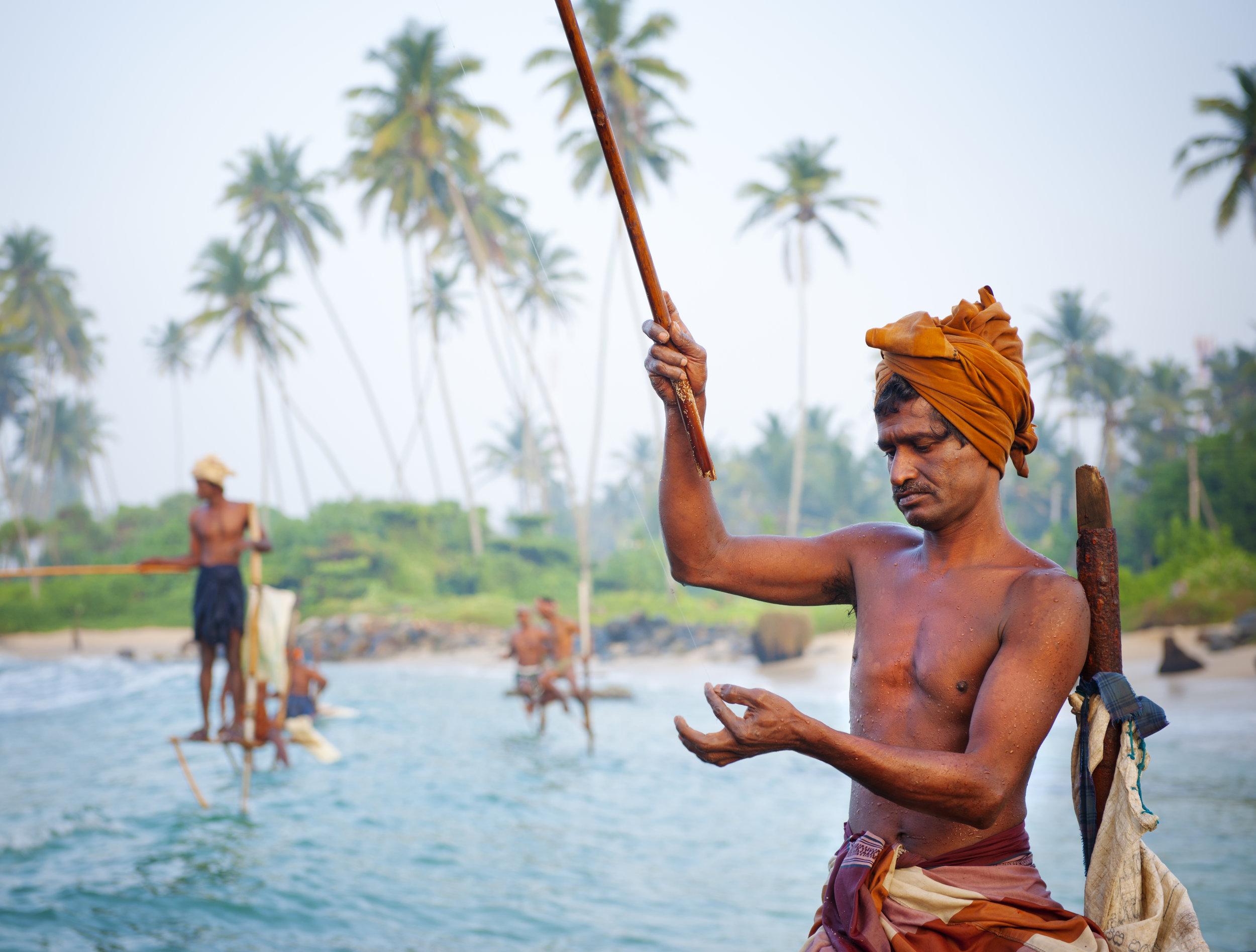 Sri-lanka - pescatori