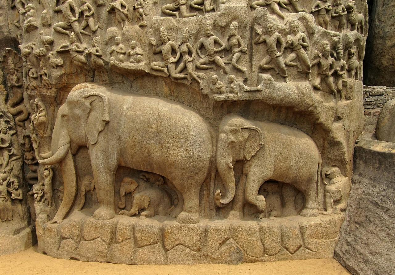 Matrimandir - La discesa del Gange
