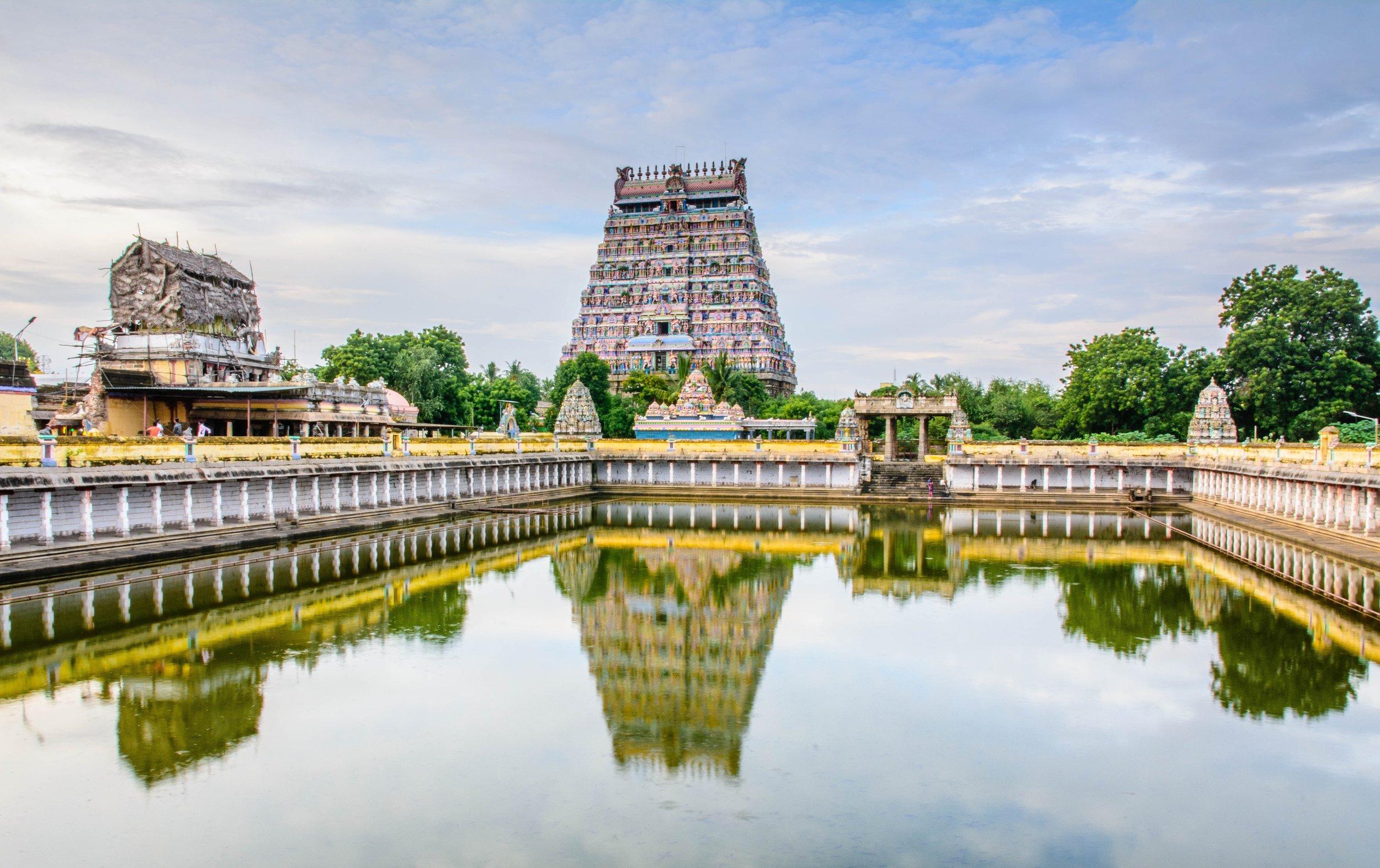Chidambaram Thillai Nataraja temple, Chidambaram, India.jpg