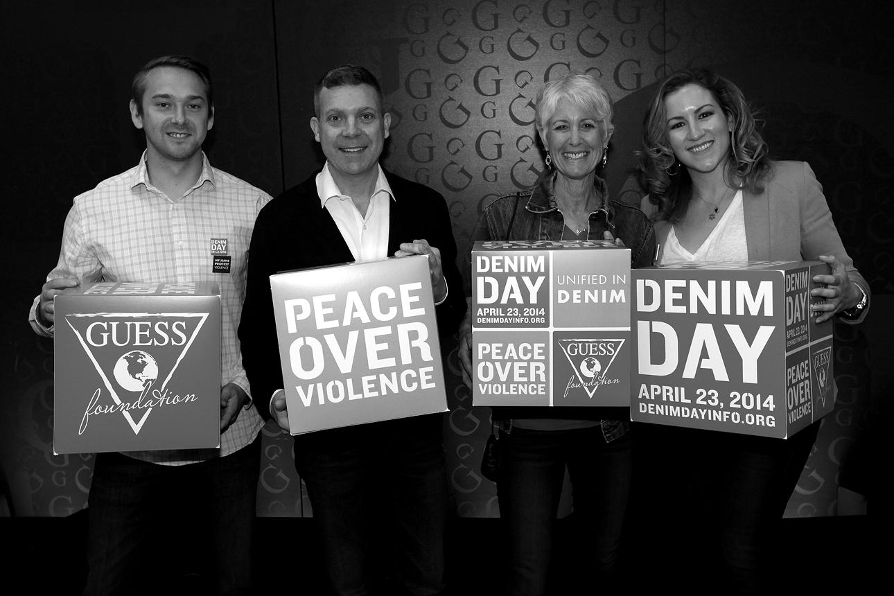 Peace Over Violence Denim Day in LA & USA 15th anniversary on April 23, 2014