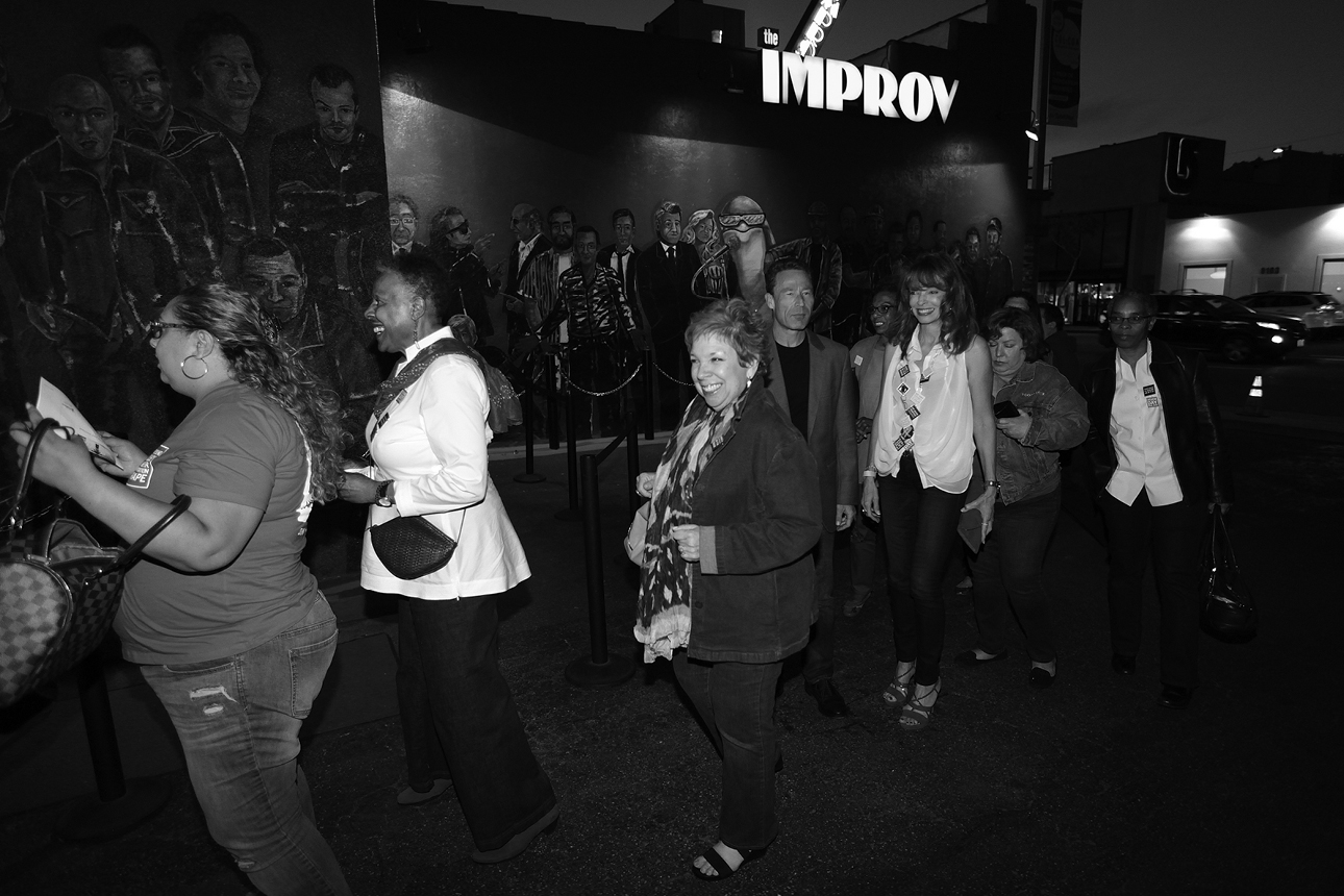 Peace Over Violence Denim Day in LA & USA 2014 closing event at Hollywood IMPROV
